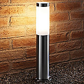 Auraglow IP44 Stainless Steel Outdoor Garden Post Light - Warm White - Rushmoor