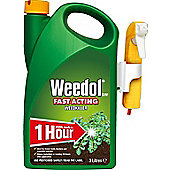 Weedol Fast Acting Weedkiller - Power Sprayer - 3 Litre