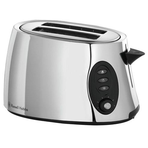 Russell Hobbs 18029 Stylis 2 Slice Toaster - Polished Metal