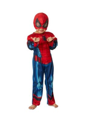 Marvel Spider-Man Fancy Dress Costume Red 5-6 years