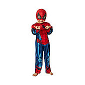 Marvel Spider-Man Light-Up Fancy Dress Costume - Red