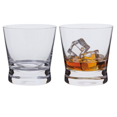 Dartington Whisky Rocks Glass - Bar Excellence (Pair)