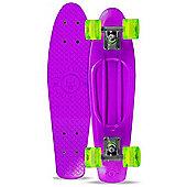Madd Gear Skins Retro Cruiser - Purple/Lime