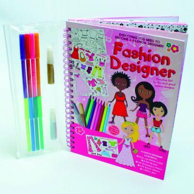 Fashion Designer Activity Book