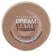 Maybelline Dream Matte Mousse Foundation 032 Golden