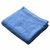 Homescapes Blue Luxury Hand Towel 500 GSM 100% Egyptian Cotton, 50 x 90 cm