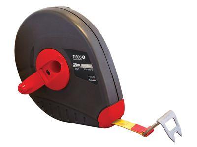 Fisco FT20ME Futura Fibreglass Tape 20m/64ft (Width 13mm)