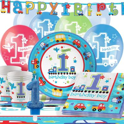 All Aboard Party Pack - Deluxe Party for 16