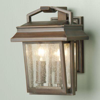 Elstead Lighting Newlyn 2 Light Outdoor Wall Lantern in Old Bronze
