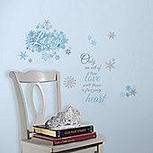 Disney Frozen 'Let it Go' Wall Stickers