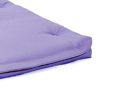 Comfy Living 2ft6 Small Single Futon Mattress in Lilac