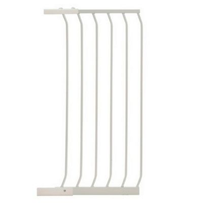 45CM Tall Extension WHITE - For Safety Gates F190W/F191W - F842W - Dreambaby