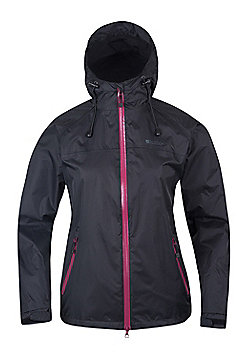 Hail Womens Waterproof Jacket - Black