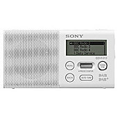 Sony XDRP1DBPW.CE7 Pocket DAB/FM Radio, White
