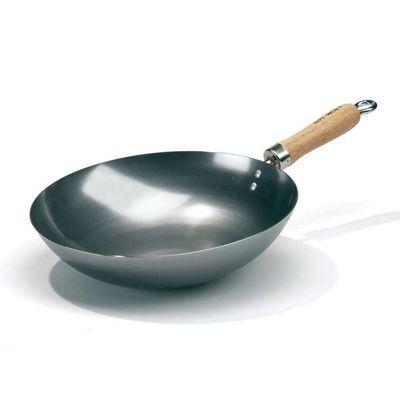 Hot Wok 30cm Carbon Steel Wok Pan