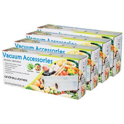 Andrew James Vacuum Food Sealer Rolls - 28cm x 40m