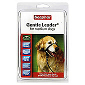 Beaphar Gentle Leader Dog Headcollar Black (M)