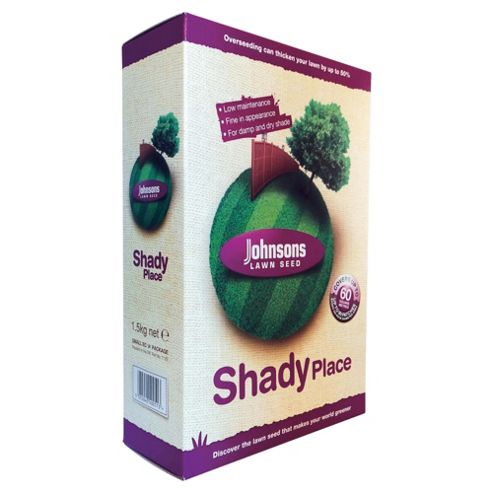 Johnsons Shady Place Grass Seed 1.5 kg