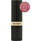 Revlon Super Lustrous Lipstick Matte 4.2g - 11 Stormy Pink
