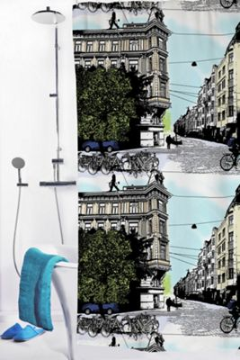 Vallila Bulevardi Shower Curtain