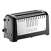 Dualit Lite 46025 4 Slice Long Slot Toaster - Black