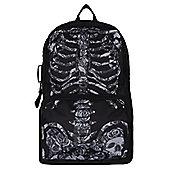 Heartless Rose Cage Black Backpack