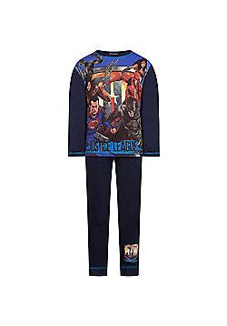 DC Comics Batman Superman Boys Pyjamas - Blue