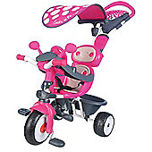 SMOBY Baby Driver Confort Pink Tricycle
