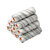 Stanley Medium Pile Silver Stripe Sleeve 100mm (4in) 10 Pack