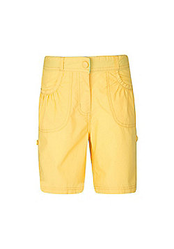 Mountain Warehouse Shore Girls Shorts - Yellow