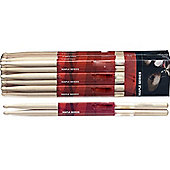 Stagg SM7A 7A Maple Drum Sticks - Wooden Tip - Pair