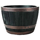 Stewart Garden Blenheim Half Barrel - 61cm - Copper (2409071)