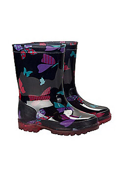 Mountain Warehouse SPLASH JUNIOR KIDS FLASHING LIGHTS WELLY - Bright pink