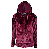 Mountain Warehouse Snaggle Womens Hooded Fleece ( Size: 10 )