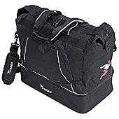 Precision Training Football / Rugby Senior Players Kit Bag Black/Silver
