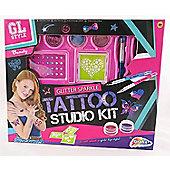 Grafix GL Style Glitter Sparkle Tattoo Studio Kit