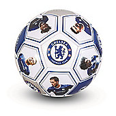 Chelsea FC Size 5 Photo & Signature Football