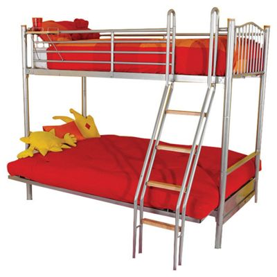 Hyder Alaska Futon Bunk Bed Denim