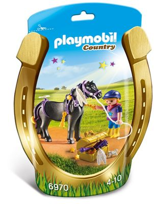 Playmobil Country Groomer with Star Pony 6970