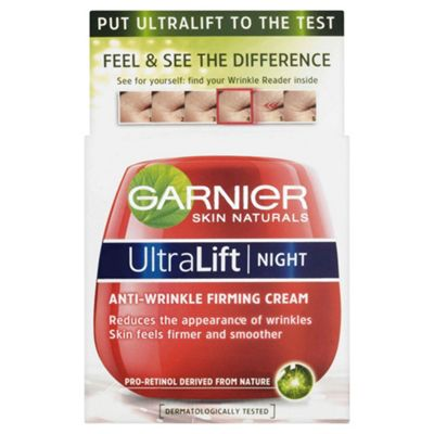 Garnier Ultra Lift Night Cream Pot 50ml