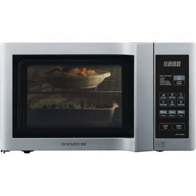 Daewoo KOR6L6BDSL 20Lt 800w Duo-Plate Digital Microwwave, Silver