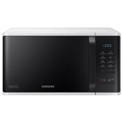 Samsung MS23K3513AW/EU 23L Solo Microwave - White