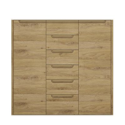 Gobi 2 Door 6 drawer cupboard
