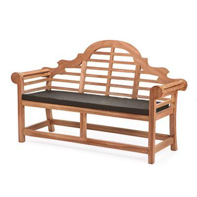 Gardenista Replacement Seat Pad for Lutyens Garden Bench - Brown