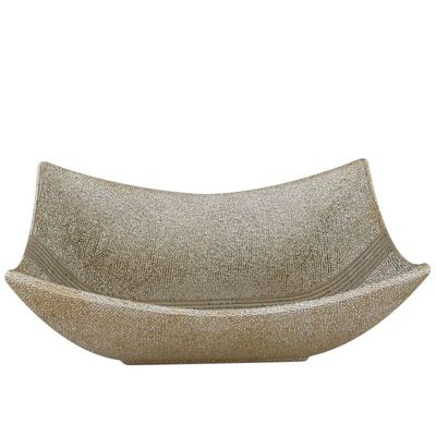 Curved Speckled Dish