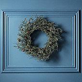 50cm Moss & Pinecone Artificial Christmas Wreath