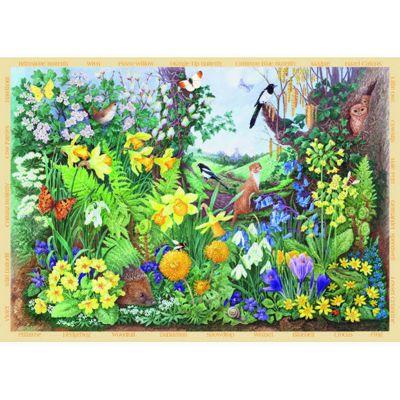 Spring Hedgerow - 200XL Piece Puzzle