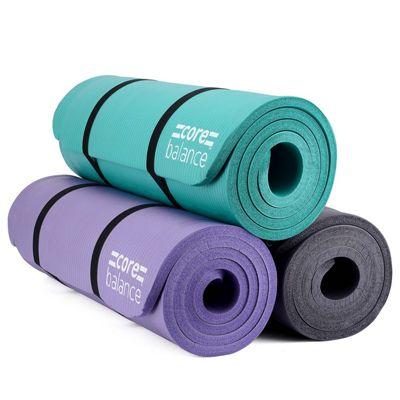 Core Balance NBR Foam Exercise Mat - Purple