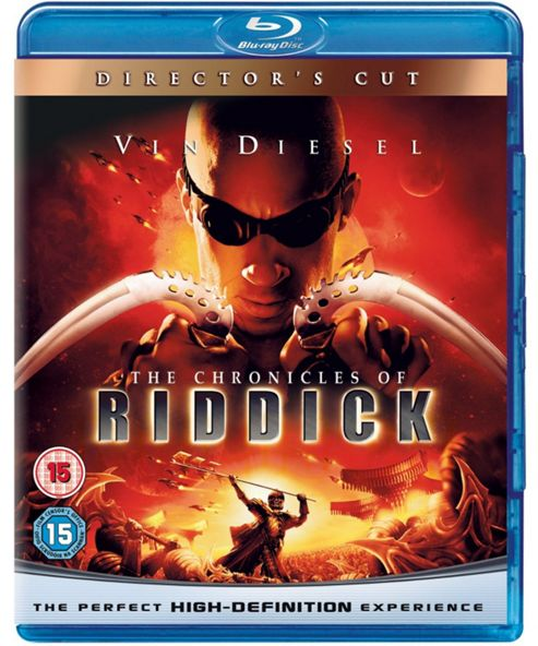 Chronicles Of Riddick Blu Ray