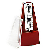 Tiger Pyramid Metronome - Classic Mechanical Style - Red